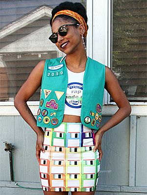 10 Unique And Quirky Fashion And Style Bloggers We Love | Gurl.com  Dominique we need to start that fashion blog