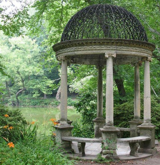 Westbury House Gardens: Gazebo Folly Temple Of Love Old Westbury Gardens Peggie