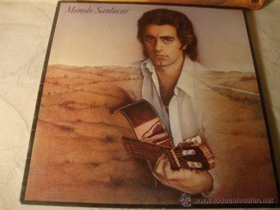 DISCO LP ORIGINAL MANOLO SANLUCAR-Y REGRESARTE- A MIGUEL HERNANDEZ