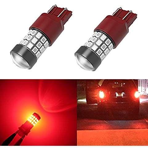 Alla Lighting 7443 Led Bulbs Super Bright T20 Wedge Led 7440 7443 Bulb 39 Smd High Power 2835 Chipsets Led W21w 7443 7440 Pur Led Strobe Led Bulb Strobe Lights