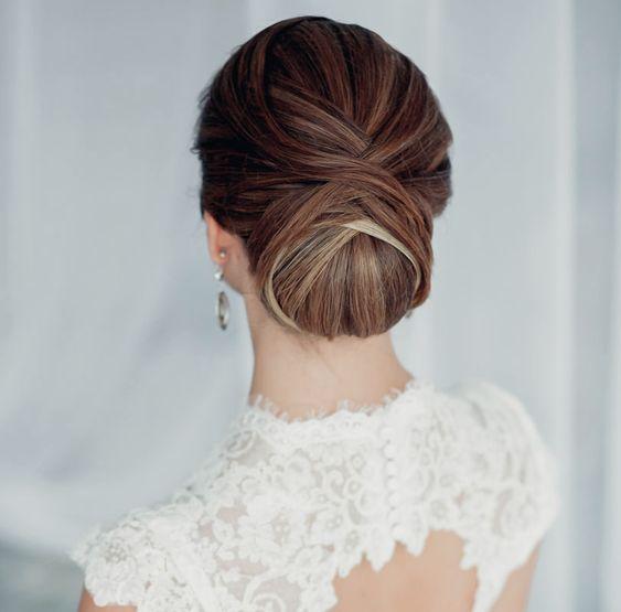 #Hochzeit: Haare im #Dutt