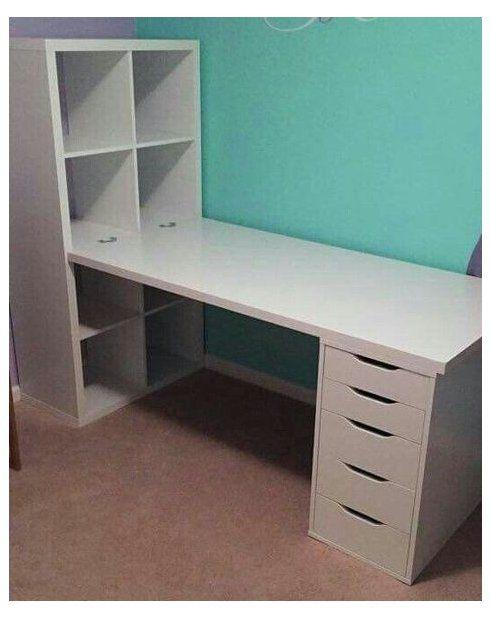 Alex Kallax Combination Ikea Kallax Ideas Office Desks Ikeakallaxideasofficedesks Room Storage Diy Diy Craft Room Table Ikea Crafts