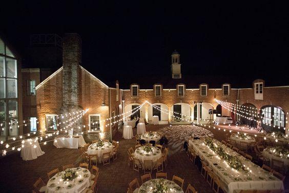 Cheekwood Botanical Garden wedding, Nashville Wedding, outdoor wedding reception, bistro lights http://lesleemitchell.com/blog/category/weddings/