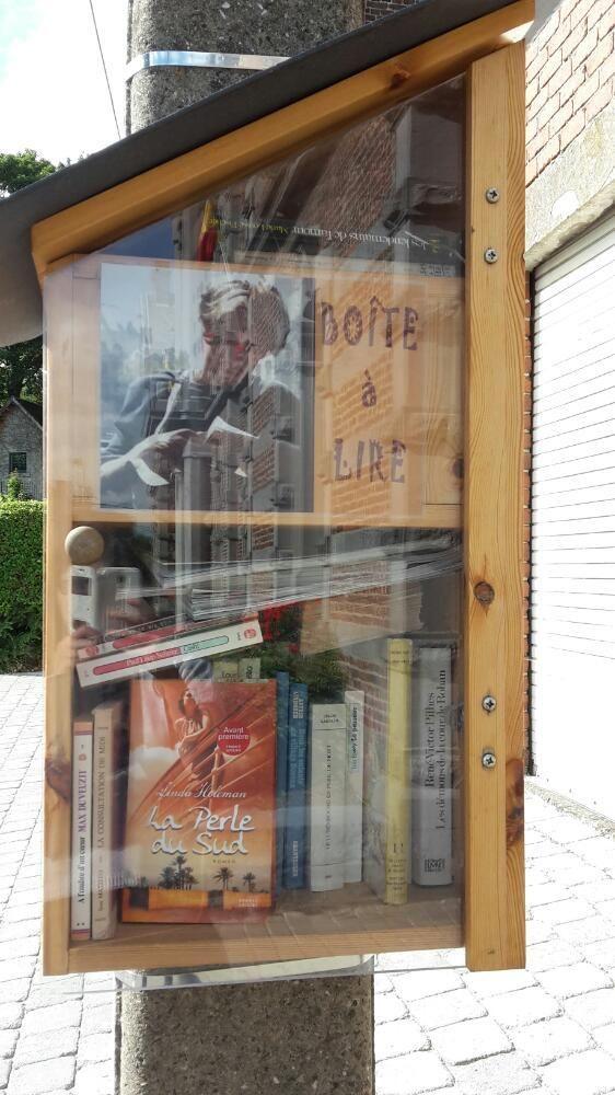 Boite à livres Gerpinnes
