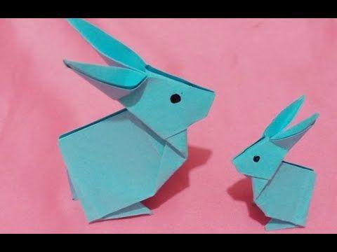 Origami Comment Faire Un Lapin En Papier تعلم كيفية تشكيل الأرنب با Origami Paper Crafts Make It Yourself