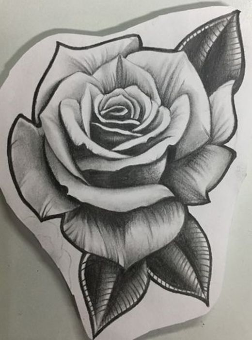 Pin By Susan On Trabalhos Rose Drawing Tattoo Rose Tattoo Sleeve Rose Flower Tattoos