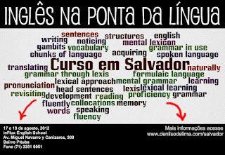 Inglês na Ponta da Língua, blog em português que esclarece dúvidas sobre expressões, etc
