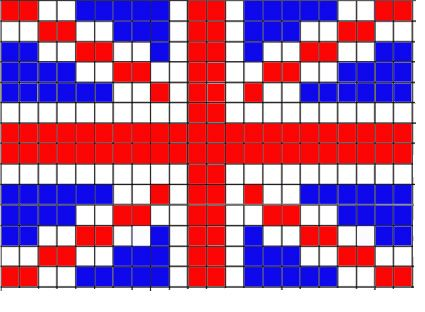 union jack knitting pattern Yarn love Pinterest Knitting patterns, Unio...