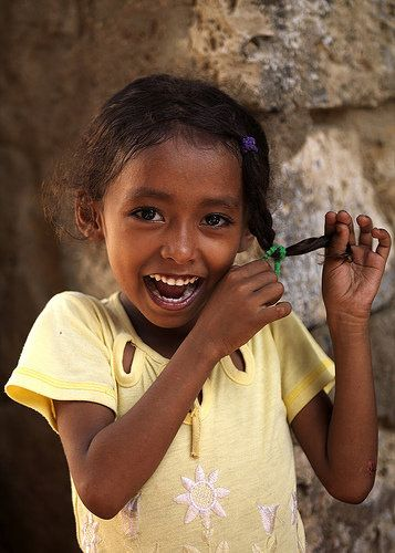 Adorable Eritrean Girl