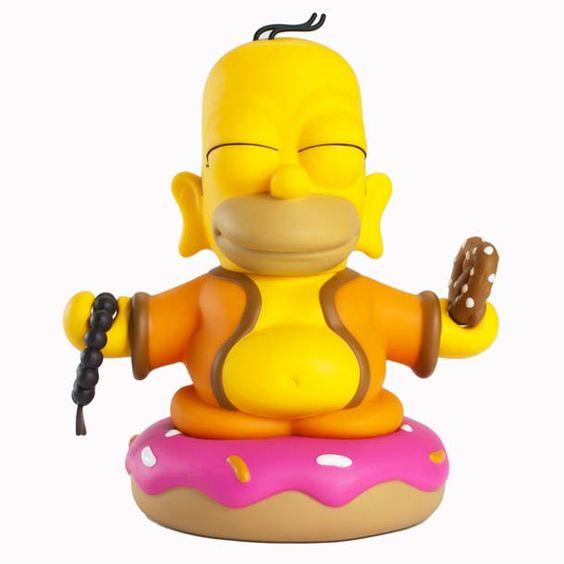 «Homer Buddha«, un art toy issue d'une collaboration Simpson VS. Kidrobot