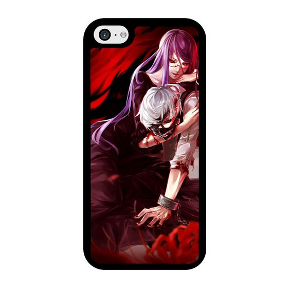 Tokyo Ghoul Kaneki and Rize iPhone 5C Case
