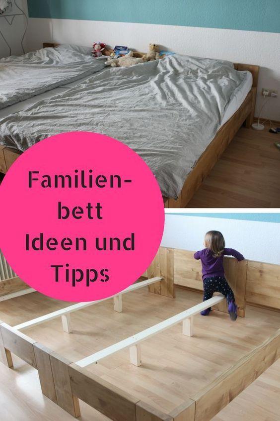 Unser Neues Grosses Familienbett Mit Video Zum Aufbau Familien Bett Familienbett