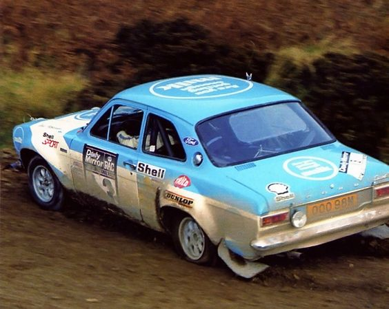 Timo Makinen - Henry Liddon 29th Daily Mirror RAC Rally 1973 (Ford Escort RS1600)