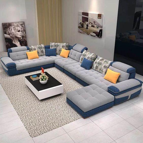 تحتاج غرفة الجلوس الى اهتمام اضافى من كل سيدة منزل حيث انها الغرفة التى يجت Modern Furniture Living Room Living Room Sofa Design Furniture Design Living Room