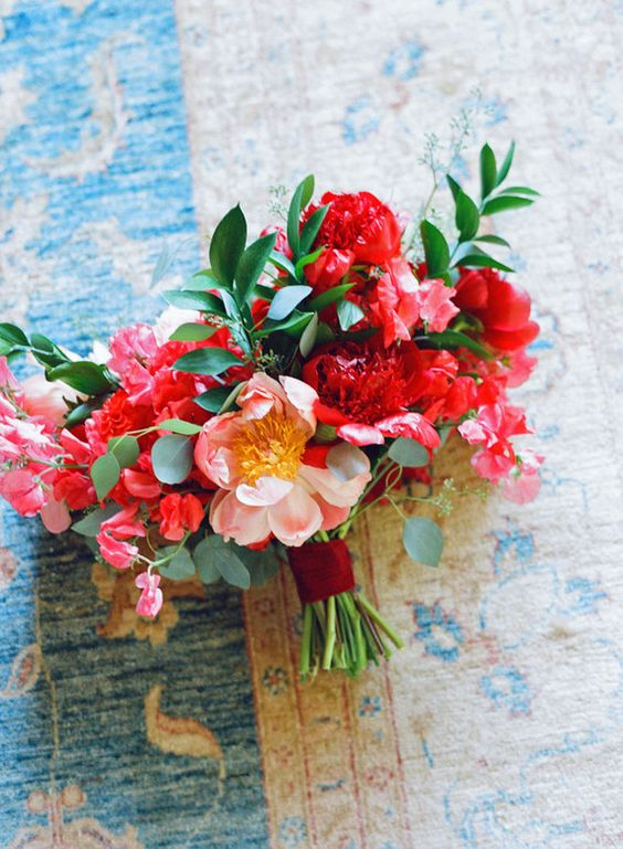 My Bridal bouquet from my special day!  See full article on 100layercake.com