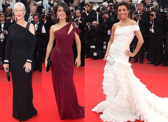 Eva Longoria Cannes Film Festival   ... Eva Longoria Parker, Salma Hayek und Helen Mirren in Cannes bei den