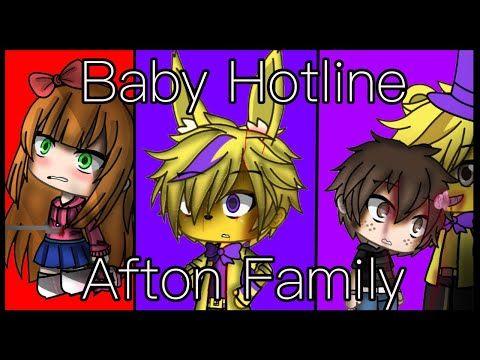Baby Hotline Gacha Life Ft Afton Family Gore Warning Youtube Afton Fnaf Funny Villain Deku