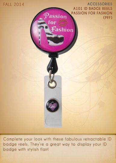 A101 ID Badge Reels | A101-PFF (Passion for Fashion)