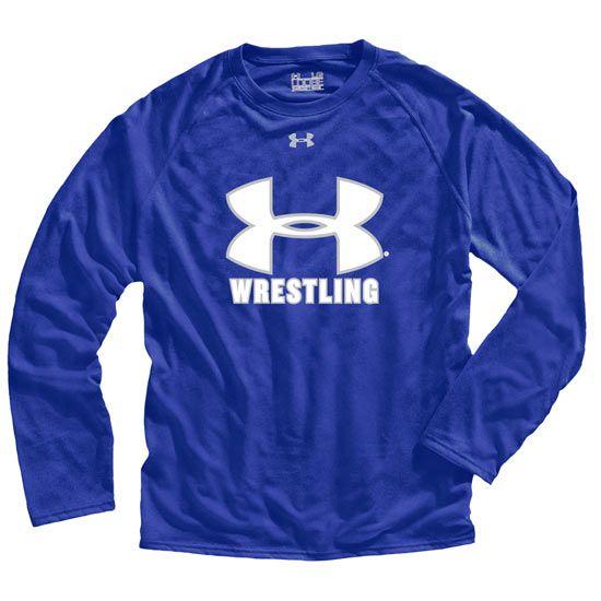 Under Armour Mens Long Sleeve Wrestling T-Shirt