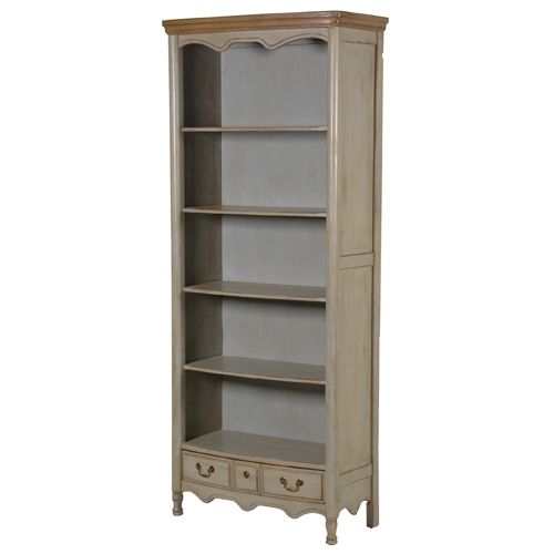 Aged Olive Vert Bookcase