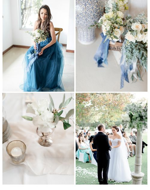 Blue wedding palette | elegant | Clareece Smit photography