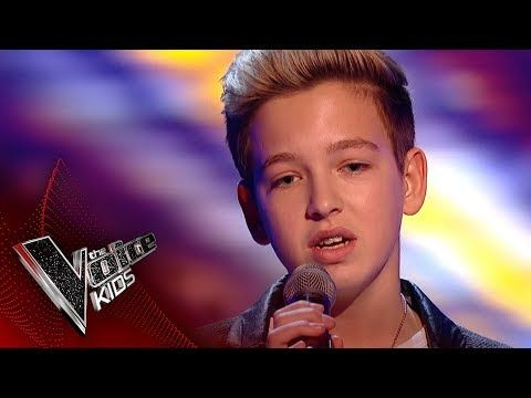 Riccardo Performs Hallelujah Blinds 1 The Voice Kids Uk 2017 Youtube Kids Singing The Voice Old School Music