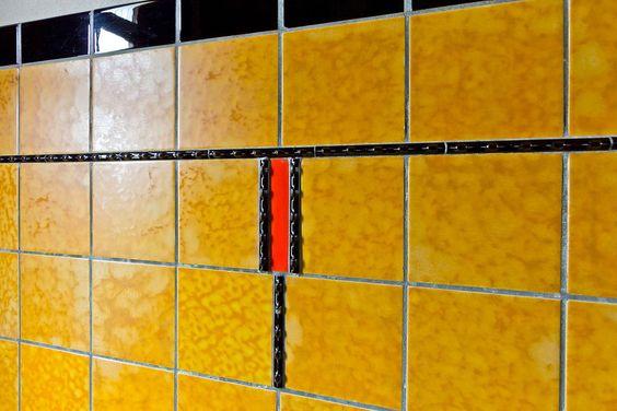 jaren 30 woning   amersfoort   tegellambrisering   3d ontwerp   monique van waes mozaiek com