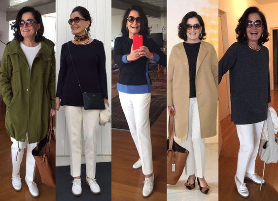 Alô, Chics!   O uniforme clássico do inverno - ou de qualquer ocasião em que você tenha que decidir rápido que roupa vestir - é uma calça preta com qualquer coisa por cima, certo?  Pois par...