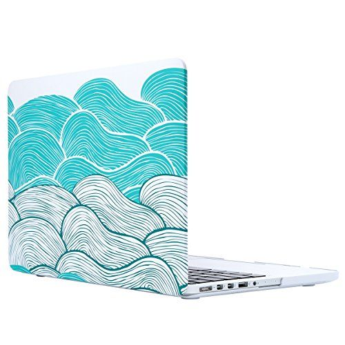 ULAK MacBook Pro 13 Retina Case, Slim Lightweight Soft-To…