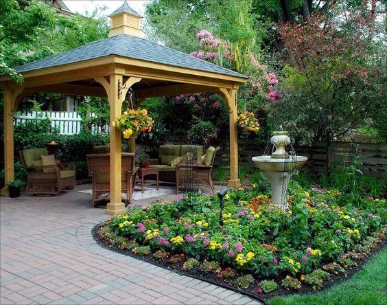 Dieser Pavillon ist ein schöne vorgefertigte Pavillon, der fast überall aufgestellt werden kann. Es ist größer, so dass Sie nicht sollten zu verschieben, aber es kann noch verschoben werden, falls erforderlich.