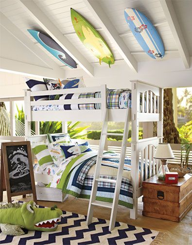 The inspiration for my little boys room (Can I still have it even though I don't have a little boy and I live nowhere near the beach?)