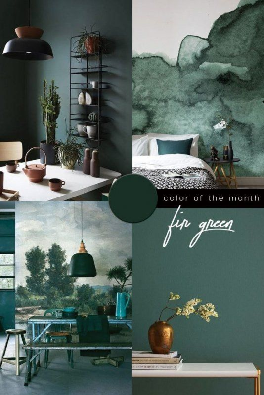 Color Trends 2021 Starting From Pantone 2020 Classic Blue Green Interior Design Green Painted Walls Green Interiors Living room decorating trends 2021