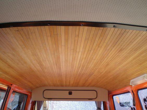 Ciel de toit en lame bambou en rouleau de chez casto for Bambou en interieur