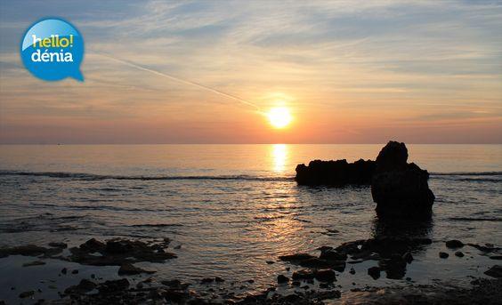 Playa de Las Rotas de Denia. Spain.  Por Roge http://www.hellodenia.com/