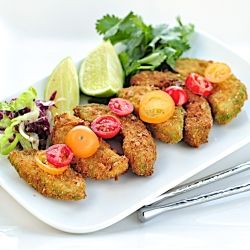 Avocado fritters
