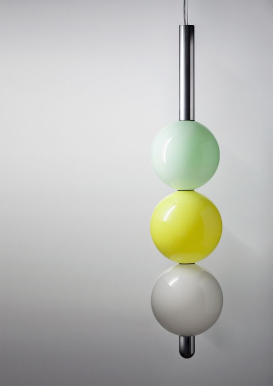 'Ball Ball Ball' pendant light from the new BIG! collection / Daniel · Emma / www.londondesignjournal.com