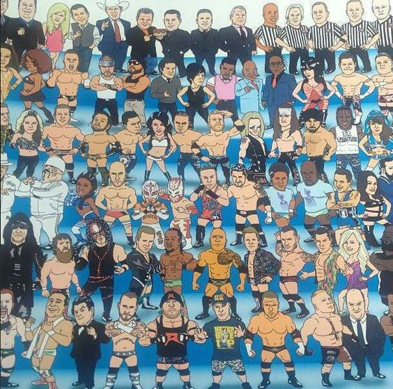 Cool drawings drawings of and wwe on pinterest for Cool wwe pictures