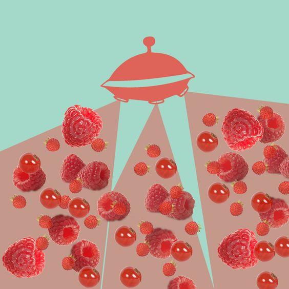 L'invasione.. per un futuro con più frutta e meno sangue #spazio #astronave #ribes #fragole #lamponi #fruttidibosco #futuro #cibodelfuturo #eatthefuture #grafica #graphic #illustration #draw #art #drawing #instagood #instaart #graphics #photo #picture #artoftheday #graphicdesign #illustrazione #design #artwork #illustrations #illustrationoftheday #green #verdurenellospazio #red