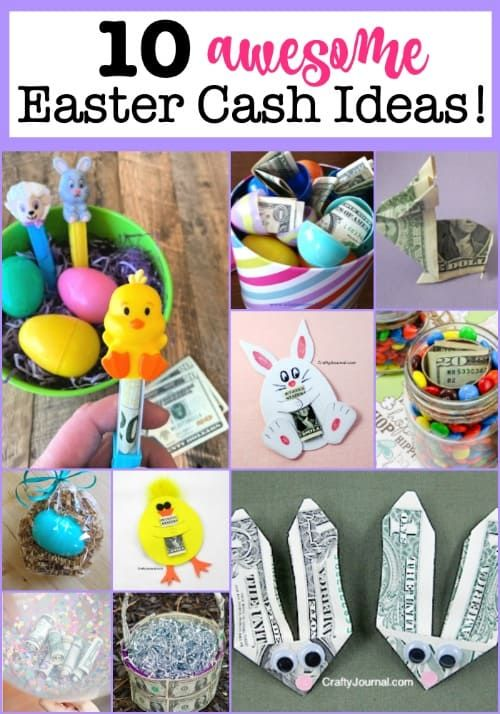 10 Awesome Easter Cash Gift Ideas In 2021 Easter Baskets To Make Cash Gift Easter Baskets