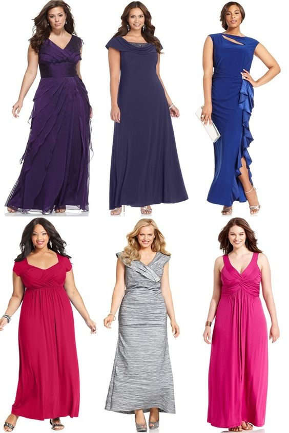 Evening Wedding Guest Dresses for Plus Size Women - PLUS SIZE ...