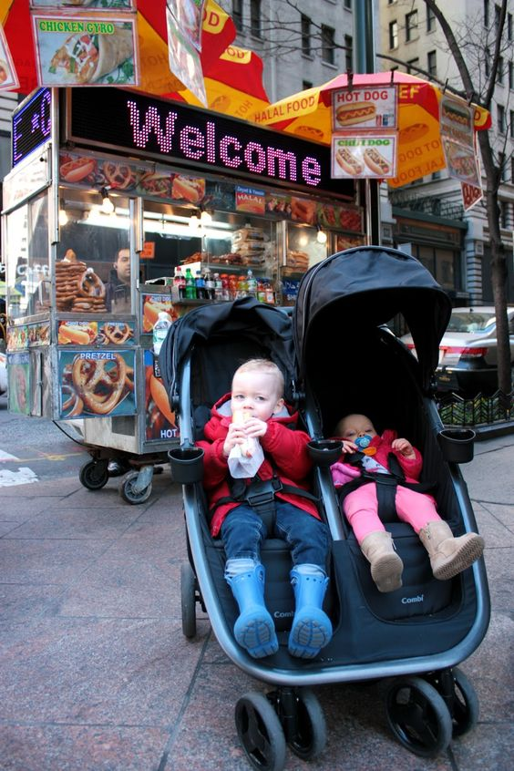 The Pretty Life Girls: PLG Loves: Combi Fold 'N Go Double Stroller