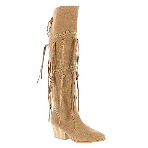 Mojo Moxy Women's Toreador Western Boot, Natural, 8 M US ** Want additional info? Click on the image.