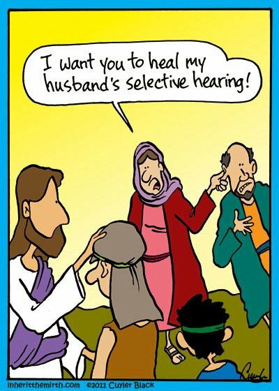 Selective hearing funny