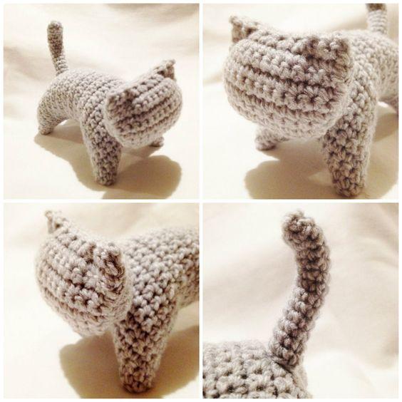 Amigurumi Au Crochet Modele Gratuit : Graphic Cat - Patron gratuit et en francais crochet ...