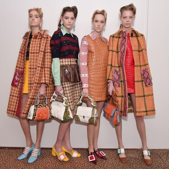 #MiuMiu Parigi #AW15 #AW16 #fashion seen on COLLEZIONI DONNA www.collezioni.info