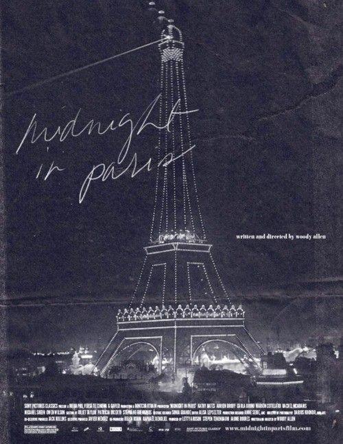 midnight in paris movie poster: Movie Posters, Favorite Place, Woody Allen, Film Poster, Paris Poster, Favorite Movie