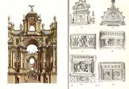 Italian baroque architecture detail by andrea pozzo and for Baroque style characteristics