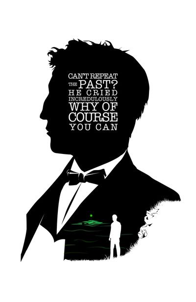 The hidden story in green and white in the fitzgeralds the great gatsby
