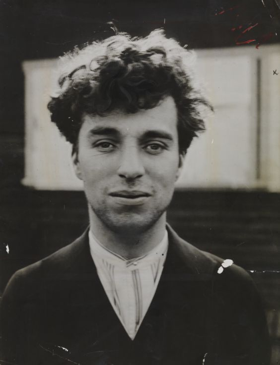 Charlie Chaplin as a young man in Hollywood