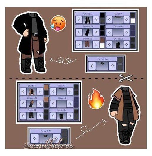 Gacha Life School Uniforms Boy Gacha Life School Uniform Ideas Gachalifeschooluniformideas Date Club Hairstyles Club Outfits Character Outfits
